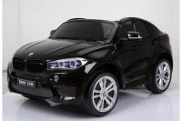 Детский электромобиль Джип BMW X6 JJ2168 Черный