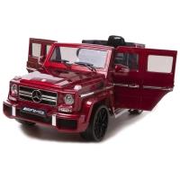 Детский электромобиль Mercedes Benz G63 LUXURY 2.4G - Red - HL168-LUX-RED