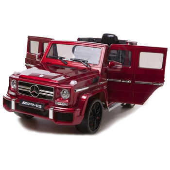 Электромобиль Mercedes Benz G63 LUXURY 2.4G - Red - HL168-LUX-RED