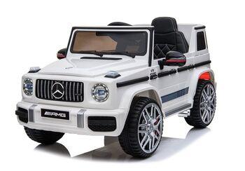 Электромобиль Mercedes-Benz G63 AMG White 12V - BBH-0002