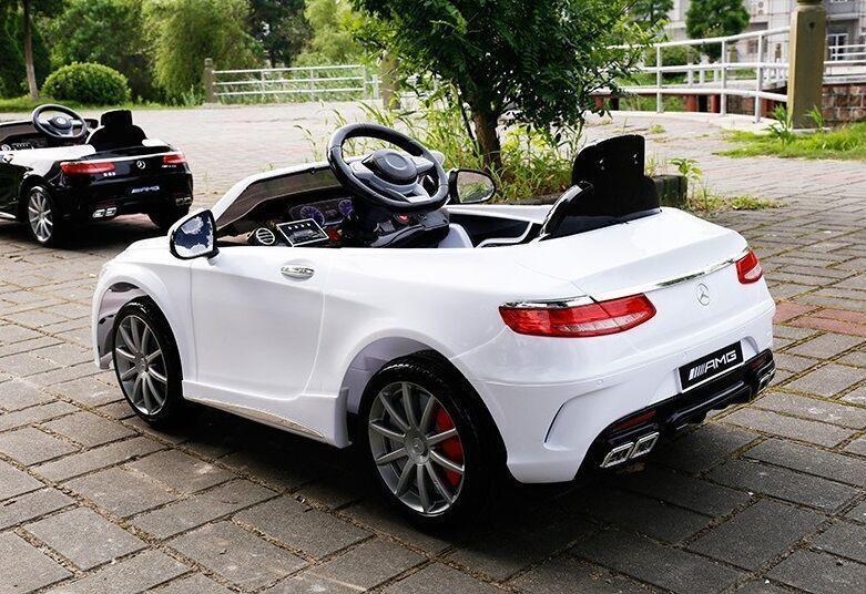 Электромобиль Mercedes Benz S63 LUXURY 2.4G - White - HL169-LUX-W