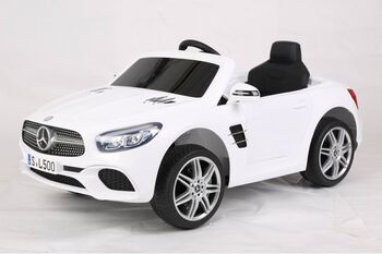 Детский электромобиль MERCEDES-BENZ SL500 White