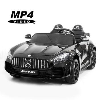 Электромобиль Harley Bella Mercedes-Benz GT R 4x4 MP4 - HL289-BLACK-PAINT-4WD-MP4