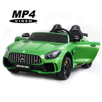 Электромобиль Harley Bella Mercedes-Benz GT R 4x4 MP4 - HL289-MATTE-GREEN-4WD-MP4