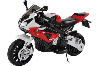 Электромобиль мотоцикл BMW S1000PR на аккумуляторе 12V цвет красный
