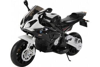 Электромобиль мотоцикл BMW S1000PR на аккумуляторе 12V цвет черный