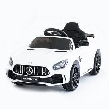 Электромобиль Mercedes Benz AMG GT R 2.4G - White - HL288