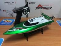 Радиоуправляемый катер Fei Lun High Speed Green Boat 2.4GHz - FT009-G