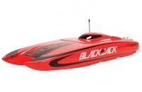 Радиоуправляемый катамаран ProBoat Blackjack 24-inch Catamaran Brushless RTR (PRB08007)