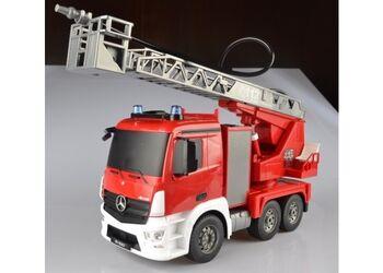 Радиоуправляемая пожарная машина Mercedes-Benz Actros 1:20