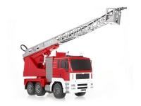 Радиоуправляемая пожарная машина Double Eagle, брызгает водой 1:20