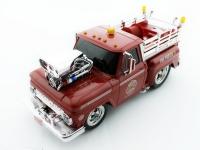 Радиоуправляемая пожарная машина Пикап из серии Muscle Сar с гоночным Мотором 1/16 свет и звук