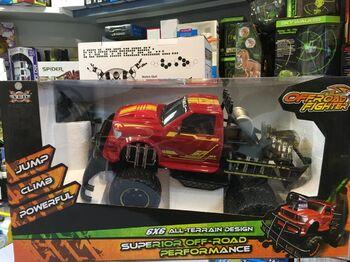 Радиоуправляемая машина джип 6х6 YED Red Fire TG-4 Truck - YE81403
