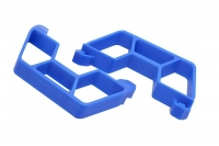 Nerf Bars for the Traxxas Slash 2wd LCG Chassis - Blue