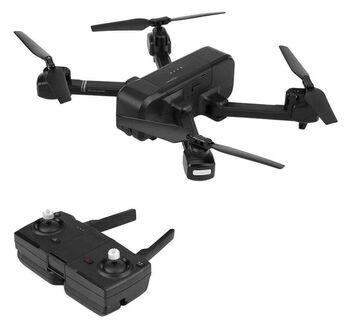 Квадрокоптер SJRC Z5 720p черный GPS, камера 720P