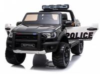 Детский электромобиль Ford Ranger Raptor Police с мигалками - DK-F150RP-BLACK-PAINT