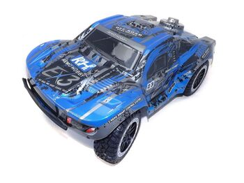 Радиоуправляемый шорт-корс Remo Hobby EX3 Brushless (синий) 4WD 2.4G 1/10 RTR