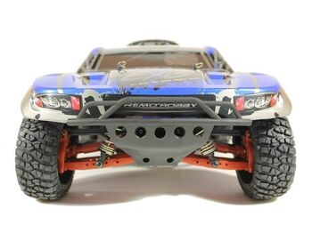 Радиоуправляемый шорт-корс Remo Hobby EX3 UPGRADE (синий) 4WD 2.4G 1/10 RTR