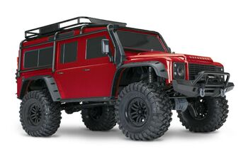 Радиоуправляемая машина Traxxas TRX-4 Land Rover 4WD Scale and Trail Crawler 1:10 Красный без акб и з/у