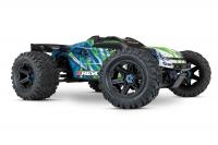 Радиоуправляемая машина Traxxas E-Revo VXL Brushless 4WD 1:10 Зеленый без АКК и з/у
