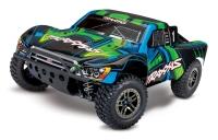 Traxxas Slash Ultimate 1:10 4WD VXL TQi Bluetooth Module OBA Green