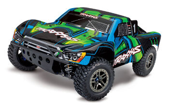 Шорткорс Traxxas Slash Ultimate 1:10 4WD VXL TQi Bluetooth Module OBA Green