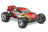 Радиоуправляемая машина TRAXXAS Rustler 2WD RTR Fast Charger 1:10