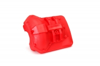 Differential cover, front or rear (red)