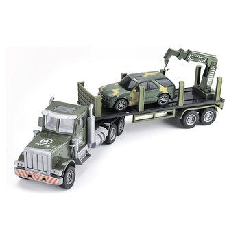 Радиоуправляемый грузовик-трейлер + джип CityTruck 1:24 - 552-B2