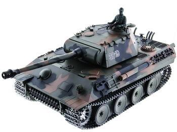 Радиоуправляемый танк Heng Long Panther PRO 1:16 (Германия) 2.4G RTR