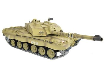 Радиоуправляемый танк Heng Long Challenger 2 PRO Li-Ion 1:16 (Британия) 2.4G RTR