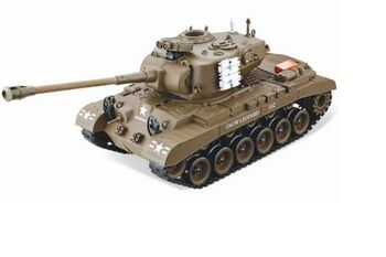 Радиоуправляемый танк Household M26 Pershing Snow Leopard 1:20 зеленый