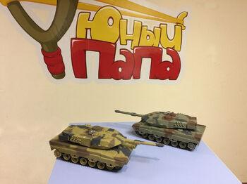 Радиоуправляемый танковый бой HQ 552 1:48 2.4G до 16 танков
