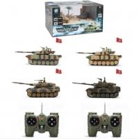 Радиоуправляемый танковый бой CSToys мини 1:64 - 9819