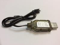 Зарядное устройство Ni-Cd 6v 250mah USB разъем YP
