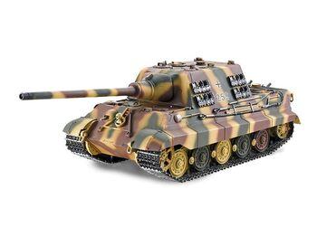Радиоуправляемый танк Torro Jagdtiger (Metal Edition) 1/16 2.4G, ВВ-пушка, деревянная коробка