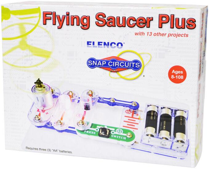Электронный конструктор Snap Circuits Flying Saucer Plus