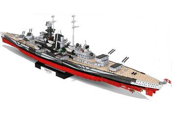Пластиковый конструктор COBI Battleship Tirpitz