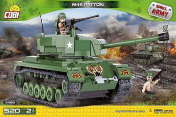 Конструктор COBI M46  PATTON