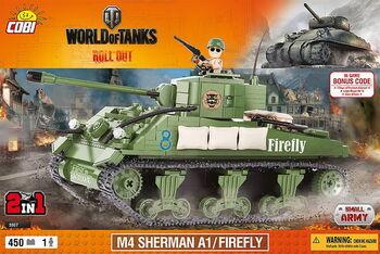Конструктор COBI M4 Sherman