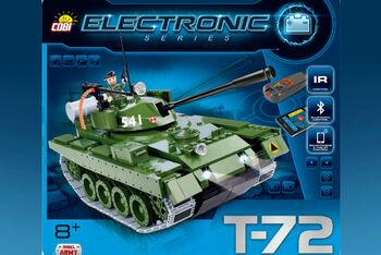 Конструктор COBI T-72 v2 with bluetooth
