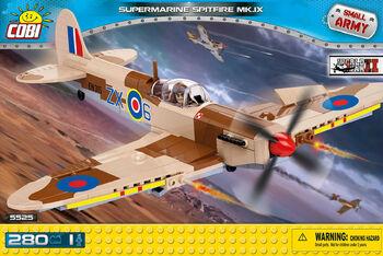 Пластиковый конструктор COBI Supermarine Spitfire Mk. IX
