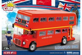 Пластиковый конструктор COBI London Bus