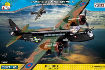 Пластиковый конструктор COBI Vickers Wellington