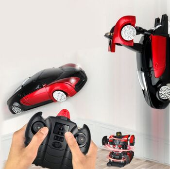 Радиоуправляемый трансформер MZ Bugatti Veyron Красный цвет 1:24 - 2815X-R