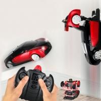 Радиоуправляемый трансформер, ползающий по стенам MZ Bugatti Veyron Red 1:24 - 2815P