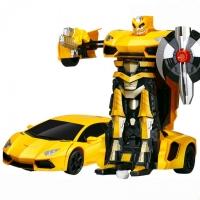 Радиоуправляемый трансформер MZ Lamborghini Aventodor Yellow 1:14 - 2321P-Y