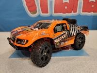 Радиоуправляемый шорт-корс Remo Hobby Rocket Orange UPGRADE 4WD 2.4G 1/16 RTR