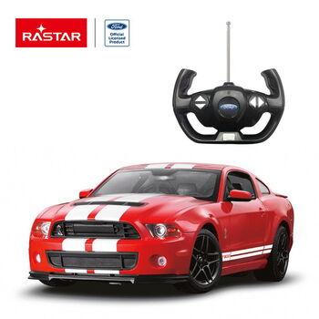 Машина Rastar 49400 Ford Shelby GT500 1:14 Цвет Красный
