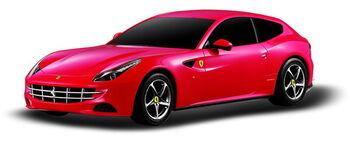 Радиоуправляемая машина Rastar 46700 Ferrari FF 1:24, цвет красный 27MHZ